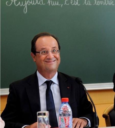 La foto di Hollande 'Buffo' ritirata dai media