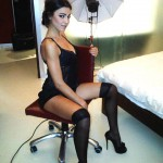 Cecilia Capriotti in lingerie bollente per un nuovo shooting fotografico su twitter