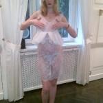 Eva Riccobono col pancione: pranzo al sesto mese di gravidanza col compagno Matteo