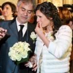 """Andrea Bocelli si sposa: nozze """"segrete"""" con Veronica Berti al santuario di Montenero"""