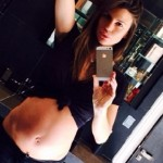 Claudia Galanti, pancione a -11 giorni dal parto