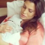 Claudia Galanti mamma per la terza volta, è nata  Indila Carolina