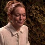 Lindsay Lohan, guerra d'acqua in tv