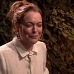 Lindsay Lohan, guerra d'acqua in tv