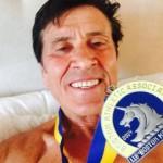"""Morandi dopo la maratona di Boston, su   Fb la foto con la medaglia. """"Ho fatto fatica"""""""