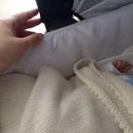 """Melissa Satta dimessa dall'ospedale, la foto   della culla con Maddox: """"Finalmente a casa"""""""