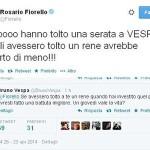Fiorello-Vespa, tweet al vetriolo. E' lite social ma poi finisce in 'Love'