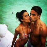 Federica Nargi e Alessandro Matri, fuga d'amore al caldo delle Maldive