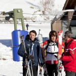 Renzi sugli sci: breve vacanza a Courmayeur